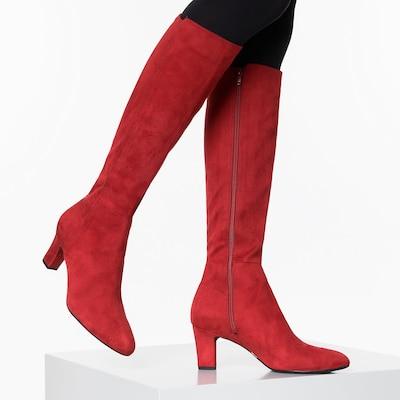 UNISA Stiefel in rot: Frontalansicht