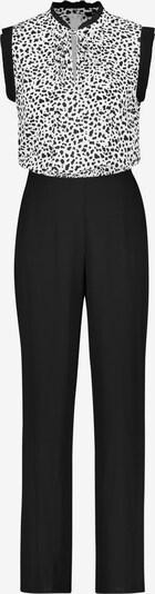 TAIFUN Hose Freizeit Sonderpassform Jumpsuit in schwarz, Produktansicht