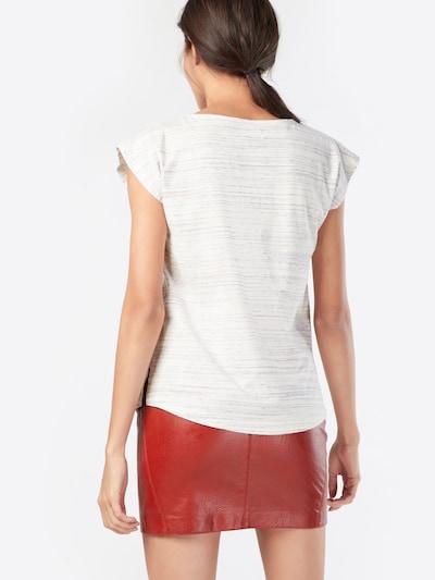Forvert Shirt 'Marie' in beige / helllila / dunkellila: Rückansicht