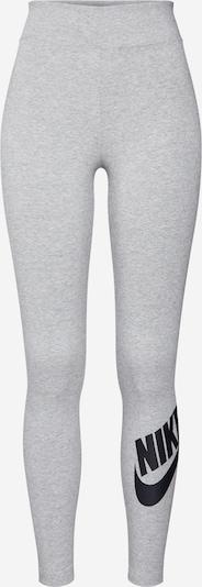 Nike Sportswear Tajice 'W NSW LEGASEE LGNG HW FUTURA' u siva / crna, Pregled proizvoda