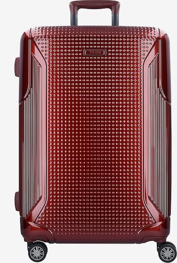 TITAN Trolley 'Cody' in rot, Produktansicht