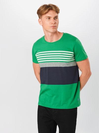 Tricou EDC BY ESPRIT pe verde: Privire frontală