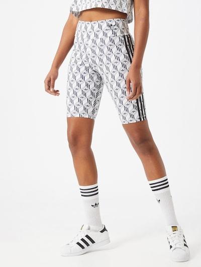 ADIDAS ORIGINALS Hose 'CYCLING' in schwarz / weiß, Modelansicht