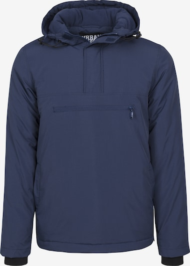 Urban Classics Padded Pull Over Jacke in navy: Frontalansicht