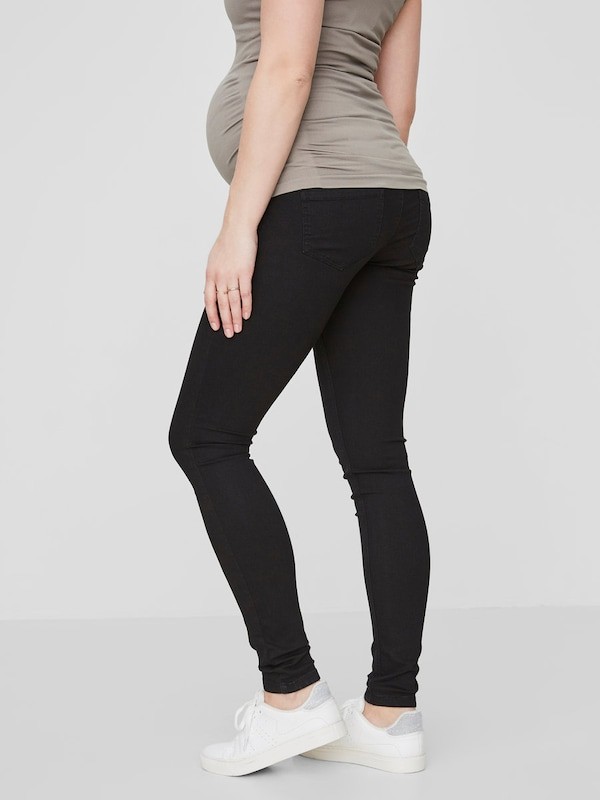 MAMALICIOUS Umstandsjeans Skinny