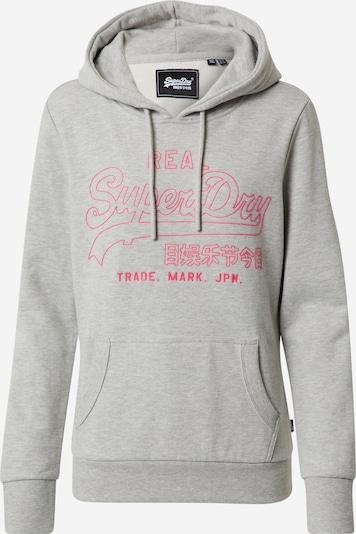 Superdry Sweatshirt 'OUTLINE' in de kleur Grijs, Productweergave