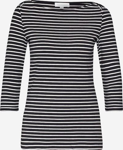 ARMEDANGELS Shirt  'DALENAA STRIPES' in schwarz / offwhite, Produktansicht