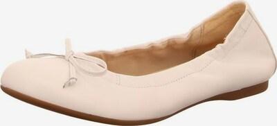 GABOR Ballerina in weiß: Frontalansicht