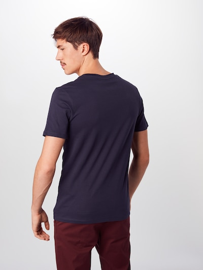 SELECTED HOMME T-Krekls 'THEPERFECT' pieejami tumši zils: Aizmugures skats