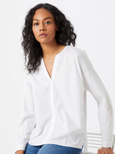 ESPRIT Bluse 'Voile' in weiß, Modelansicht
