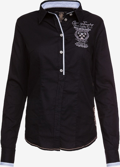 Soccx Bluse in schwarz: Frontalansicht