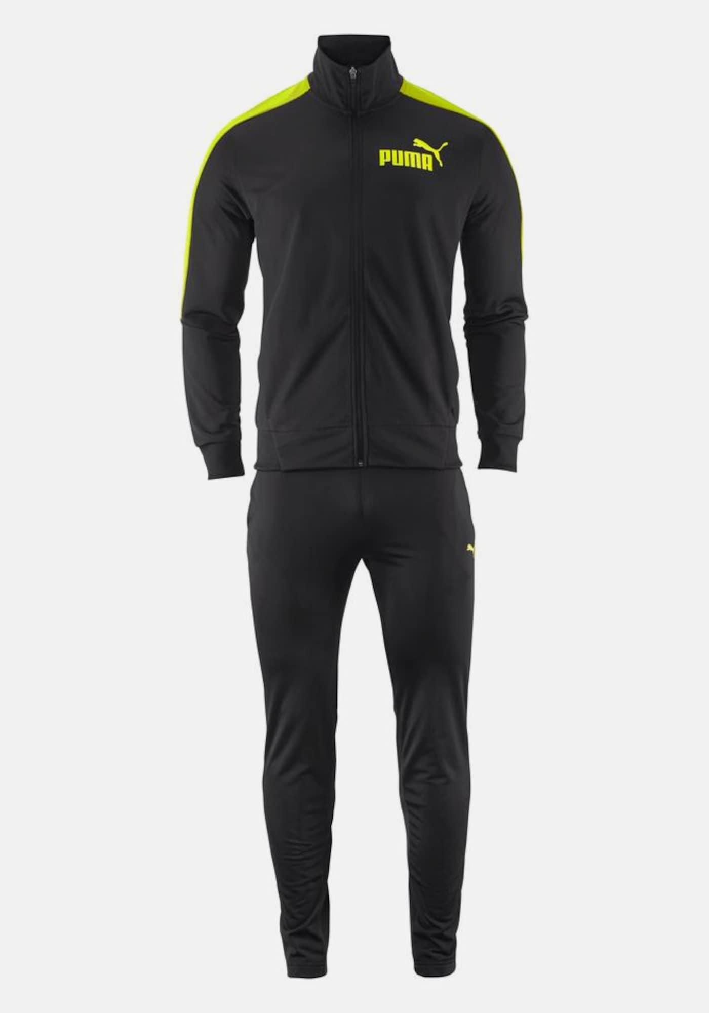 puma trainingsanzug 39 tricot suite 39 in schwarz about you. Black Bedroom Furniture Sets. Home Design Ideas