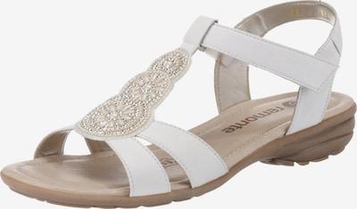 REMONTE Sandale 'R3641' in braun / weiß, Produktansicht