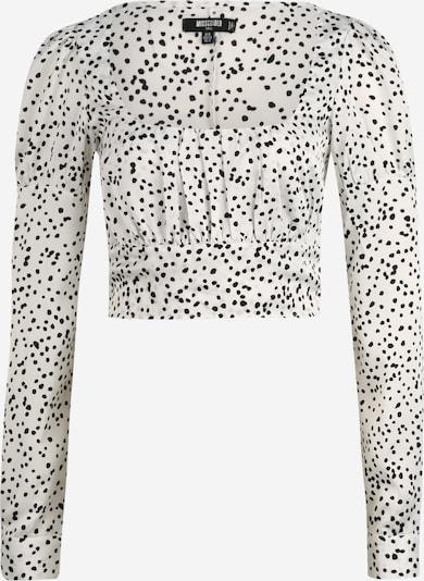 Missguided (Tall) T-shirt en noir / blanc, Vue avec produit