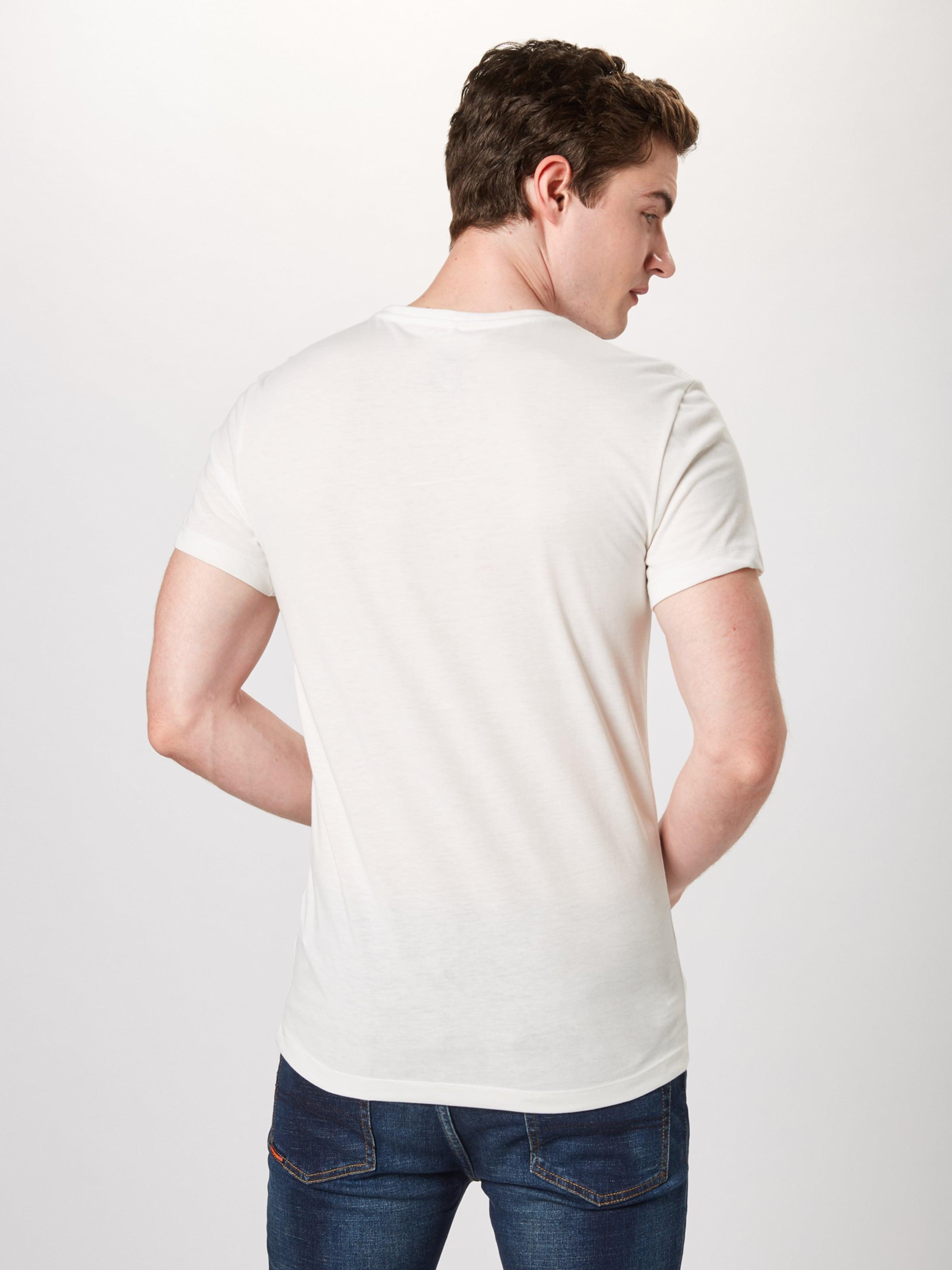 CouleursBlanc shirt De Cassé Blend En Mélange T 1c3KlFJT