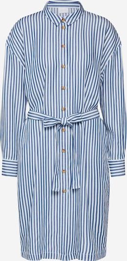 VILA Robe-chemise 'Visuka' en bleu / blanc, Vue avec produit