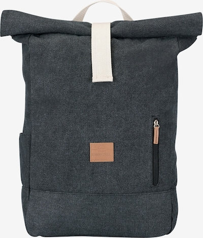 Johnny Urban Rucksack 'Adam' in cognac / anthrazit / offwhite, Produktansicht