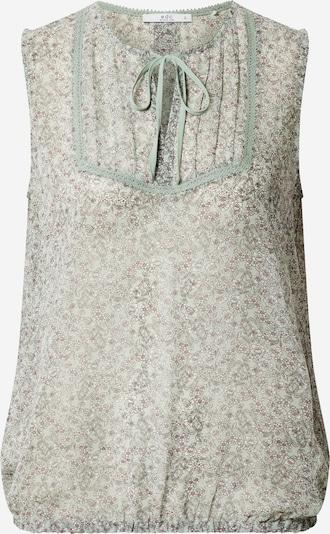 EDC BY ESPRIT Bluza 'FluentT' u pastelno zelena / miks boja, Pregled proizvoda