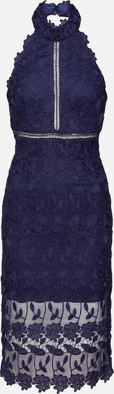 En Robe Bleu Marine Bardot Halter 'noni Cocktail De Dress' H2WID9EY