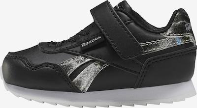 Reebok Classic Sneaker in schwarz / silber, Produktansicht