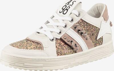 A.S.98 Sneaker in braun / weiß, Produktansicht