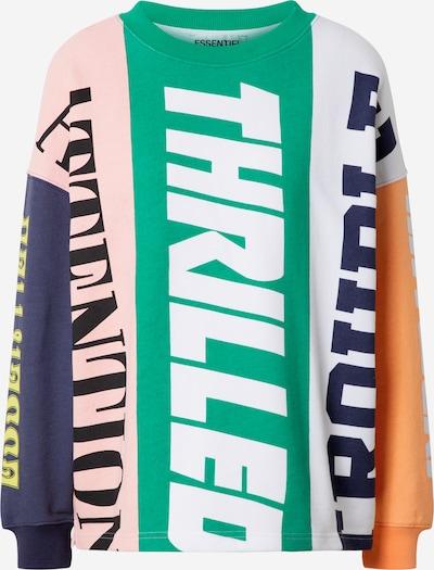 Essentiel Antwerp Sweatshirt 'Wet Colourblock Sweater' in mischfarben, Produktansicht