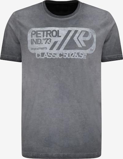 Petrol Industries T-Shirt in grau / hellgrau, Produktansicht