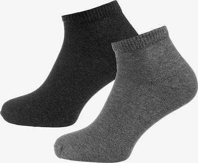 s.Oliver Socken in grau / basaltgrau, Produktansicht