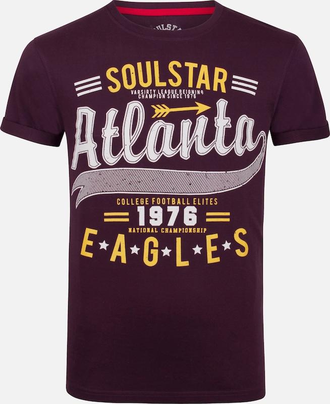 T Burgunder Soulstar Soulstar T shirt shirt Burgunder Soulstar RwwzxXpq