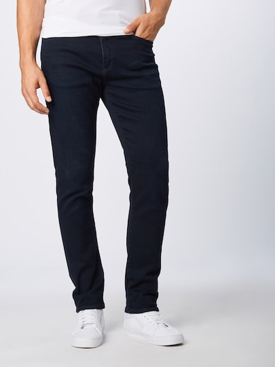 GAP Jean 'SLIM SOFT DENIM DARK BLUE' en bleu denim: Vue de face