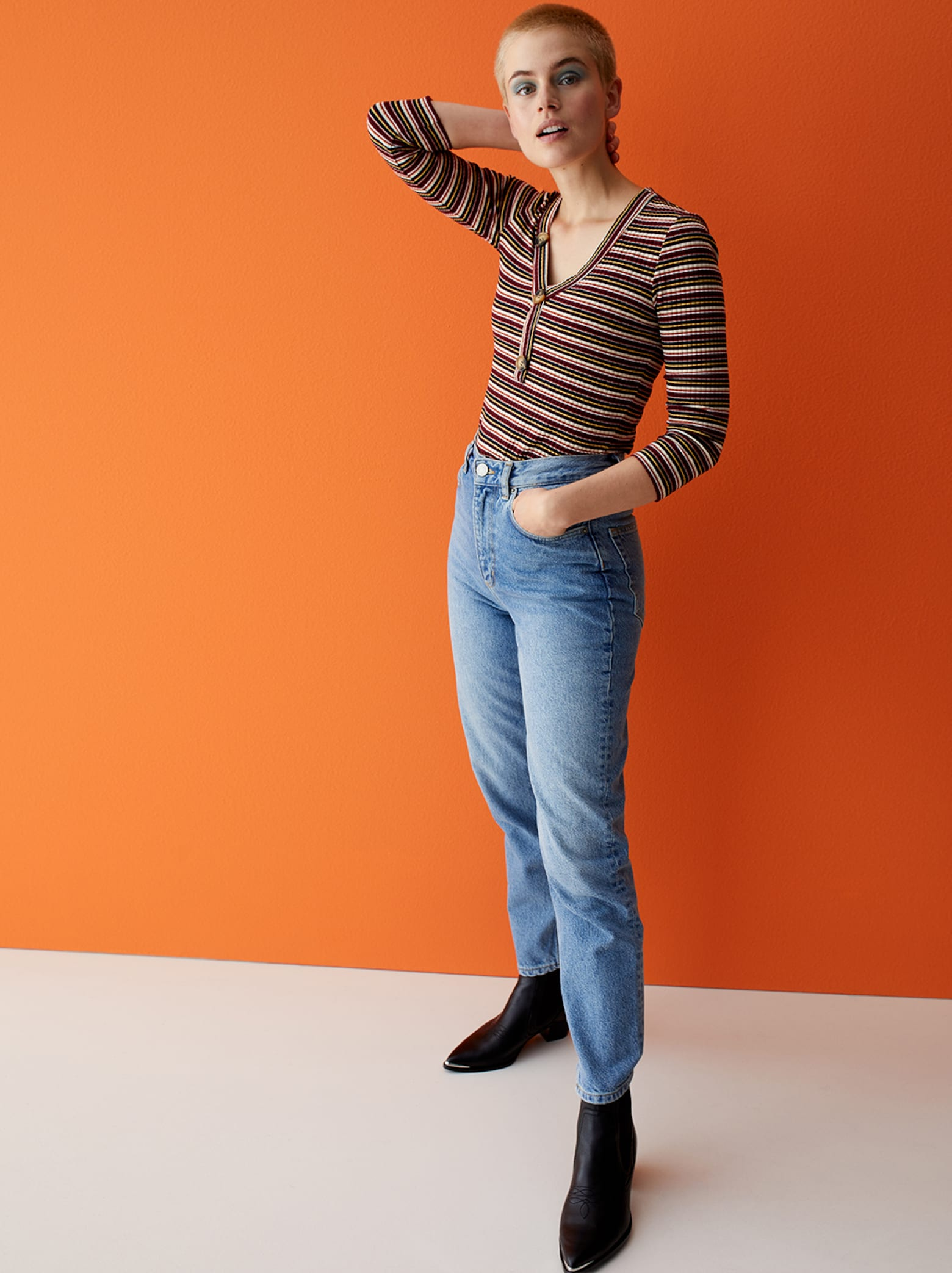 Cajsa - Stripes Outfit