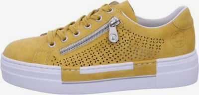 RIEKER Schnürschuhe in gelb, Produktansicht