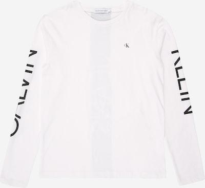 Tricou 'HERO LOGO LS T-SHIRT' Calvin Klein Jeans pe alb, Vizualizare produs