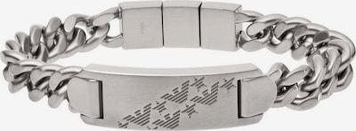 Emporio Armani Armband 'Sentimenta-Freesryle' in grau, Produktansicht