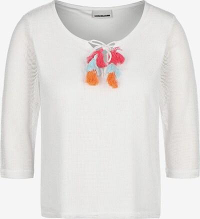 Noisy may T-Shirt ' NMLaura Tassel W ' in weiß, Produktansicht