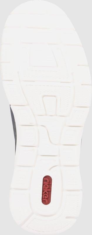 RIEKER Slipper mit Strukturoberfläche Verschleißfeste billige Schuhe