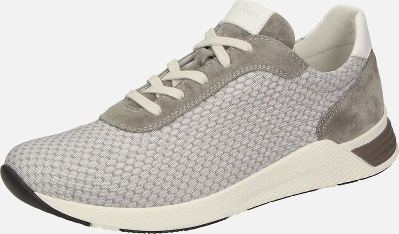 SIOUX Sneaker 'Natovan-700' in taupe: Frontalansicht