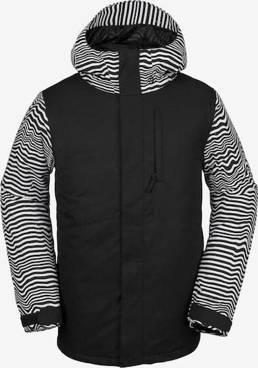 Volcom Snowboardjacke '17Forty Ins' in schwarz / weiß, Produktansicht