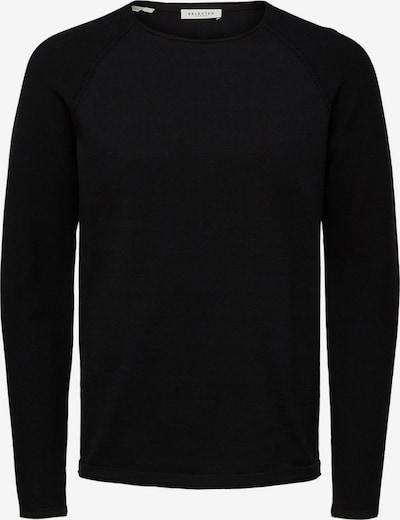 SELECTED HOMME Pullover 'Carter' in schwarzmeliert, Produktansicht