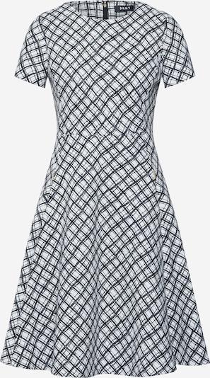 DKNY Kleid ' FIT & FLARE' in schwarz / naturweiß, Produktansicht