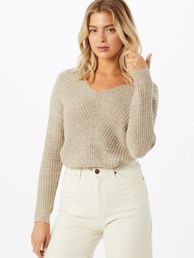 JACQUELINE de YONG Pullover 'Megan' in hellgrau, Modelansicht
