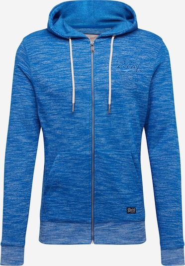 Petrol Industries Sweatjacke in royalblau, Produktansicht