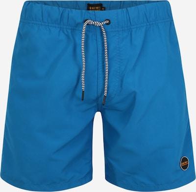Shiwi Shorts de bain 'mike' en bleu, Vue avec produit