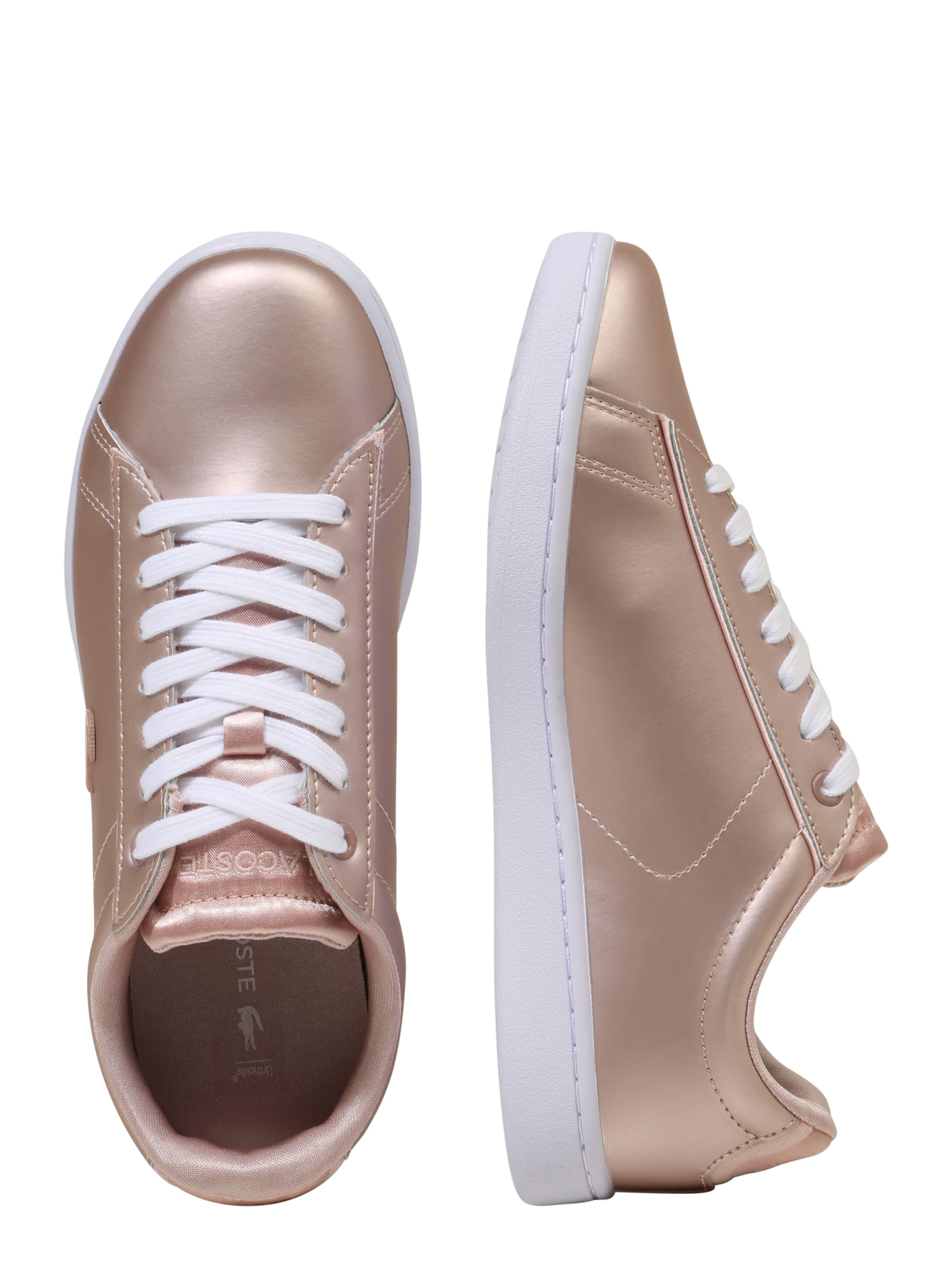 Sneaker GoldRosé Lacoste 'carnaby' In vm8n0wNO