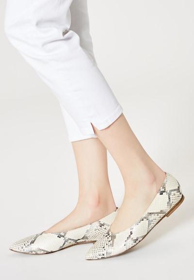 RISA Slipper in beige / mischfarben: Frontalansicht
