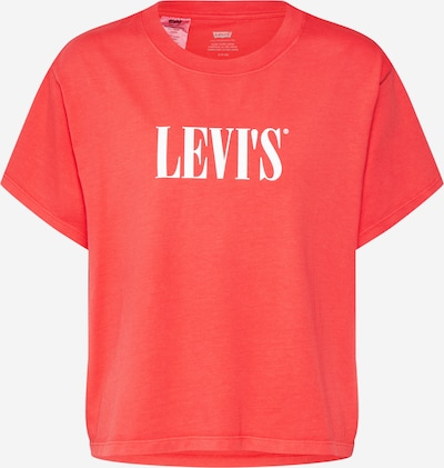 LEVI'S Shirt 'GRAPHIC VARSITY TEE' in rot, Produktansicht