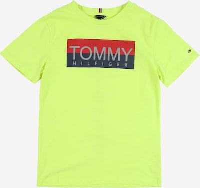 TOMMY HILFIGER Tričko 'REFLECTIVE' - neónová žltá, Produkt