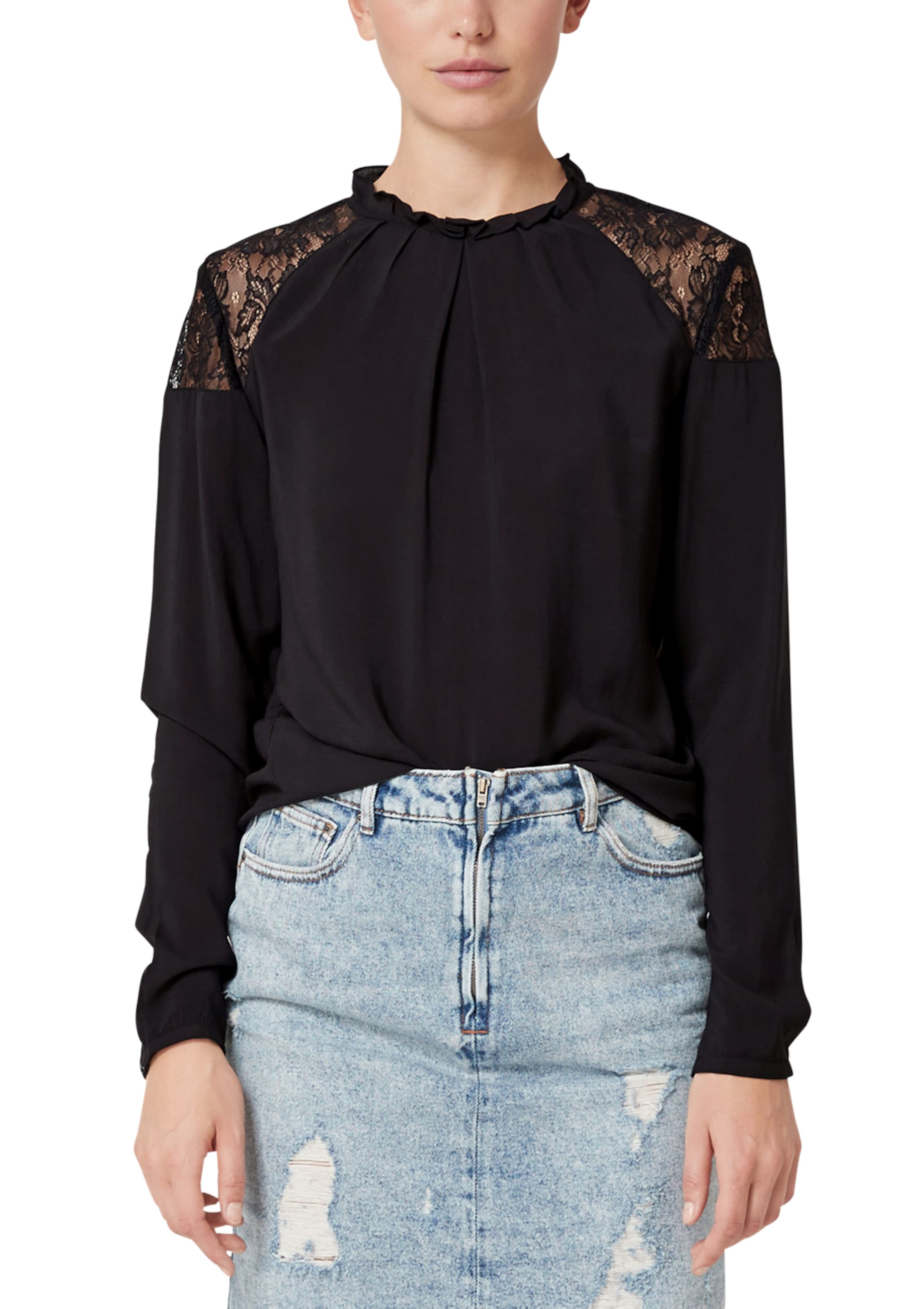 In Bluse Schwarz By Designed Q s ON8wvn0m