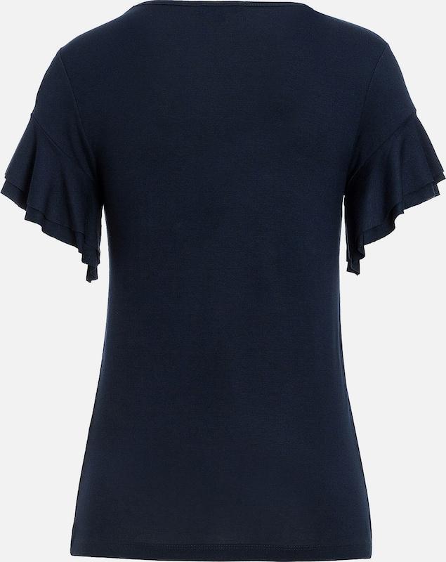 MORE & MORE Shirt, Volantärmel
