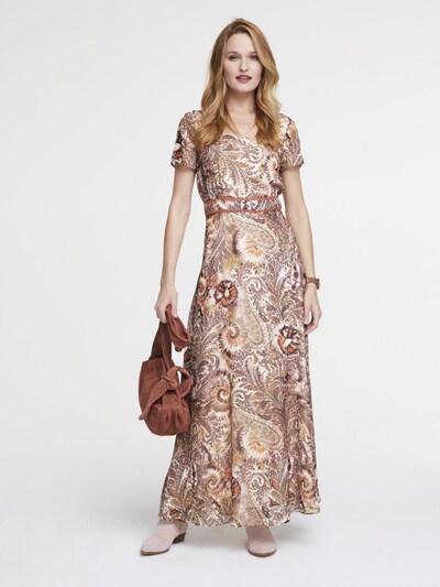 Rochie heine pe culori mixte, Vizualizare model
